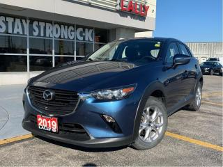 Used 2019 Mazda CX-3 GS AWD #Blindspot Det #Apple Car play #Save Fuel for sale in Chatham, ON