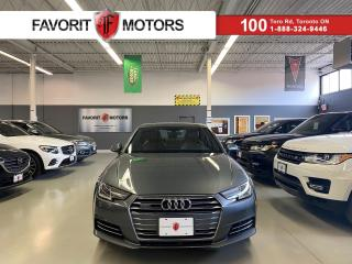 Used 2017 Audi A4 Progressiv|QUATTRO|NAV|TAN LEATHER|SUNROOF|ALLOYS| for sale in North York, ON