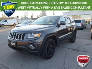 Used 2016 Jeep Grand Cherokee Laredo New Brakes and tires for sale in St. Thomas, ON