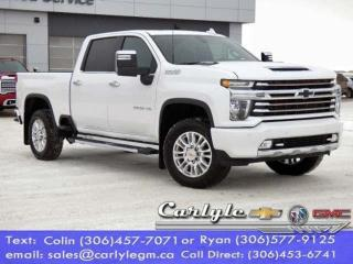New 2021 Chevrolet Silverado 2500 HD High Country for sale in Carlyle, SK