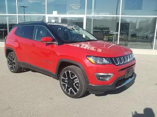 Used 2020 Jeep Compass Limited NAV, Heated Seats & Wheel, Apple CarPlay! for sale in Ingersoll, ON
