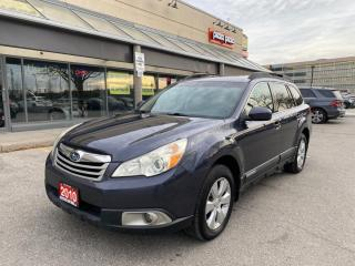 Used 2010 Subaru Outback 5dr Wgn CVT 2.5i Sport w/Limited Pkg/Multimedia for sale in North York, ON