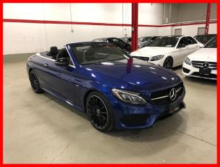 Used 2018 Mercedes-Benz C-Class C300 4MATIC NIGHT EDITION PREMIUM BURMESTER ACTIVE LED for sale in Vaughan, ON