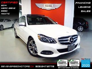 Used 2014 Mercedes-Benz E-Class for sale in Oakville, ON