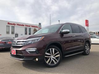 Used 2017 Honda Pilot Touring -  Navi - Leather - Sunroof - Rear Camera for sale in Mississauga, ON