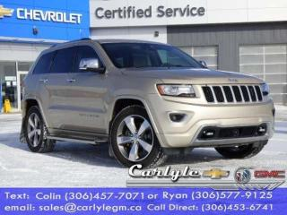 Used 2014 Jeep Grand Cherokee Overland for sale in Carlyle, SK