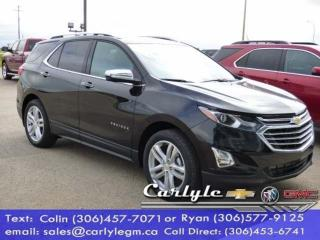 Used 2018 Chevrolet Equinox Premier for sale in Carlyle, SK