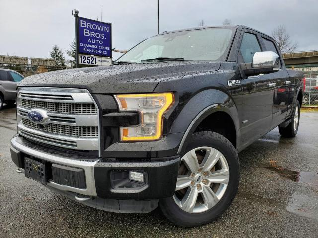 2015 Ford F-150 Platinum, LOCAL, NO ACCIDENTS, 1 OWNER
