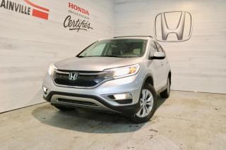 Used 2016 Honda CR-V Traction intégrale 5 portes EX-L for sale in Blainville, QC