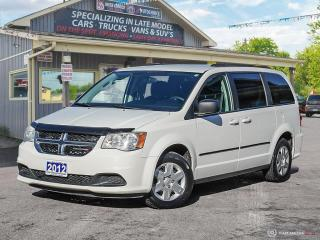 Used 2012 Dodge Grand Caravan SXT,LOW KMS, ECON, FULL STOW-N-GO,DUAL CLIMATE for sale in Orillia, ON