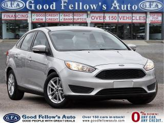 Used 2016 Ford Focus SE MODEL, REARVIEW CAMERA, BLUETOOTH, 4CYL 2.0 L for sale in Toronto, ON