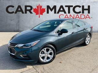 Used 2018 Chevrolet Cruze NO ACCIDENTS / PREMIER / LEATHER for sale in Cambridge, ON