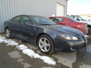 Used 2008 Pontiac Grand Prix for sale in West Saint Paul, MB