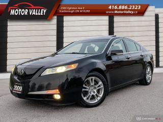 Used 2009 Acura TL w/Nav Pkg - B.Up Cam/Navigation/Roof - Loaded! for sale in Scarborough, ON