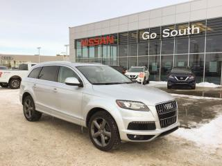 Used 2015 Audi Q7 3.0T, VORSPRUNG EDITION, NAVIGATION for sale in Edmonton, AB