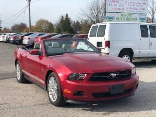 Used 2012 Ford Mustang V6 Premium for sale in Komoka, ON
