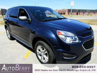 Used 2017 Chevrolet Equinox LS - 2.4L - FWD for sale in Woodbridge, ON