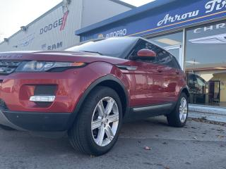 Used 2014 Land Rover Range Rover Evoque Pure Plus for sale in Aylmer, ON
