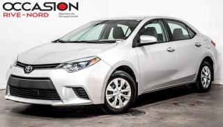 Used 2015 Toyota Corolla LE BLUETOOTH+CAM.RECUL for sale in Boisbriand, QC