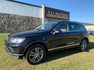 Used 2015 Volkswagen Touareg EXECLINE TDI NAVI REAR VIEW CAM PANO ROOF for sale in North York, ON