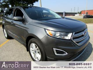 Used 2016 Ford Edge SEL - AWD - 3.5L for sale in Woodbridge, ON