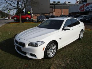 Used 2014 BMW 5 Series 535i xDrive ~ M PACKAGE ~ LOW KM for sale in Toronto, ON