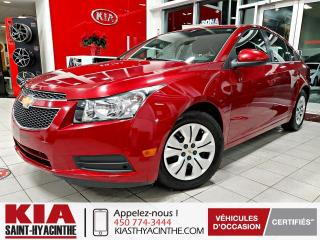 Used 2013 Chevrolet Cruze LT ** GR ÉLECTRIQUE + A/C for sale in St-Hyacinthe, QC