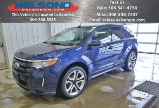 Used 2012 Ford Edge SPORT for sale in Avonlea, SK