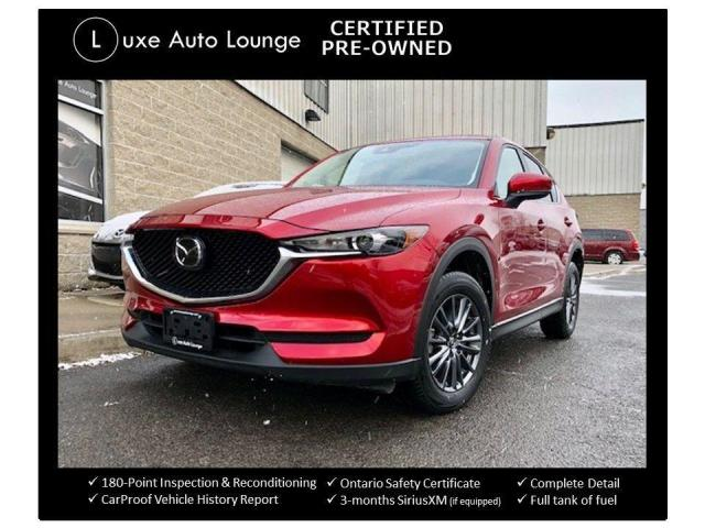 2019 Mazda CX-5 GS AWD, COMFORT PKG, SUNROOF, POWER HATCH!!!