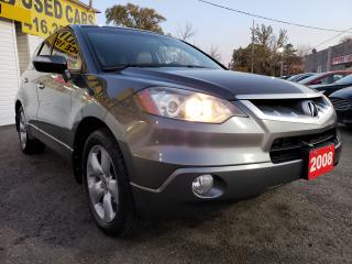 Used 2008 Acura RDX TechPkg/AWD/NAVI/LEATHER/ROOF/CAMER/ALLOYS.. for sale in Scarborough, ON