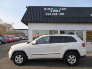 Used 2011 Jeep Grand Cherokee Laredo,4WD,BLUETOOTH,ALLOYS,REMOTE STARTER for sale in Mississauga, ON