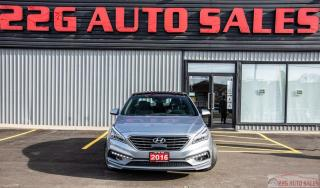 Used 2016 Hyundai Sonata 2.0T Sport Ultimate|ACCIDENT FREE|SUNROOF\BACKUP C for sale in Brampton, ON