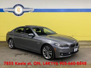 Used 2016 BMW 5 Series 535i xDrive, Navi, Roof, Blind Spot for sale in Vaughan, ON