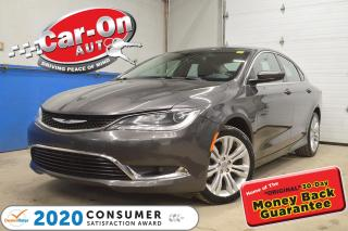 Used 2015 Chrysler 200 V6 LIMITED | NAVIGATION | HEATED SEATS for sale in Ottawa, ON