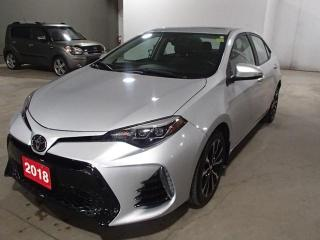 Used 2018 Toyota Corolla XSE AUTO *** FRESHLY TRADED!!! *** for sale in Nepean, ON