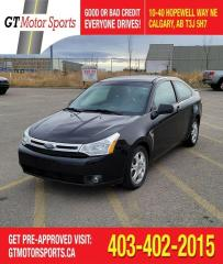 Used 2008 Ford Focus SES | $0 DOWN - EVERYONE APPROVED! for sale in Calgary, AB