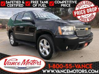 Used 2014 Chevrolet Tahoe LTZ 4X4...LOADED* LEATHER *SUNROOF! for sale in Bancroft, ON