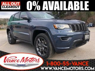New 2021 Jeep Grand Cherokee 80th Anniverary 4x4...LEATHER*COOLED SEATS*SUNROOF for sale in Bancroft, ON