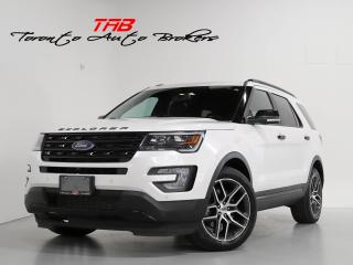 Used 2017 Ford Explorer SPORT I 7-PASS I NAVI I CAM I PANO I 20 IN WHEELS for sale in Vaughan, ON