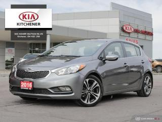 Used 2016 Kia Forte (5) EX - CLEAN CARFAX for sale in Kitchener, ON