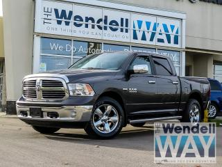 Used 2016 RAM 1500 Big Horn 8.4 Nav Crew for sale in Kitchener, ON