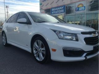 Used 2015 Chevrolet Cruze 2LT - RS - Sunroof - Local Trade for sale in Cornwall, ON