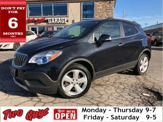 Used 2016 Buick Encore Auto | B/Up Cam | Bluetooth | Partial Leather | for sale in St Catharines, ON