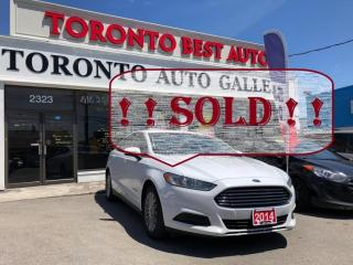 Used 2014 Ford Fusion Hybrid 4dr Sdn Hybrid S FWD ONE OWNER! CRUISE CTRL! for sale in Toronto, ON