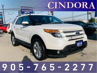 Used 2014 Ford Explorer Limited AWD, LOADED! for sale in Caledonia, ON