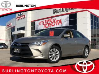 Used 2017 Toyota Camry LE for sale in Burlington, ON