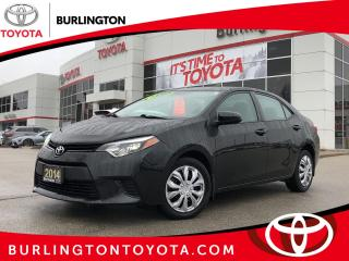 Used 2014 Toyota Corolla LE for sale in Burlington, ON