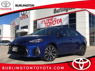 Used 2017 Toyota Corolla SE for sale in Burlington, ON