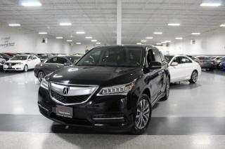 Used 2014 Acura MDX SH AWD NO ACCIDENTS I NAVIGATION I LEATHER I SUNROOF I R.CAM for sale in Mississauga, ON