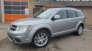 Used 2015 Dodge Journey AWD 4dr R/T 7 PASSENGERS, DVD, LEATHER for sale in Calgary, AB